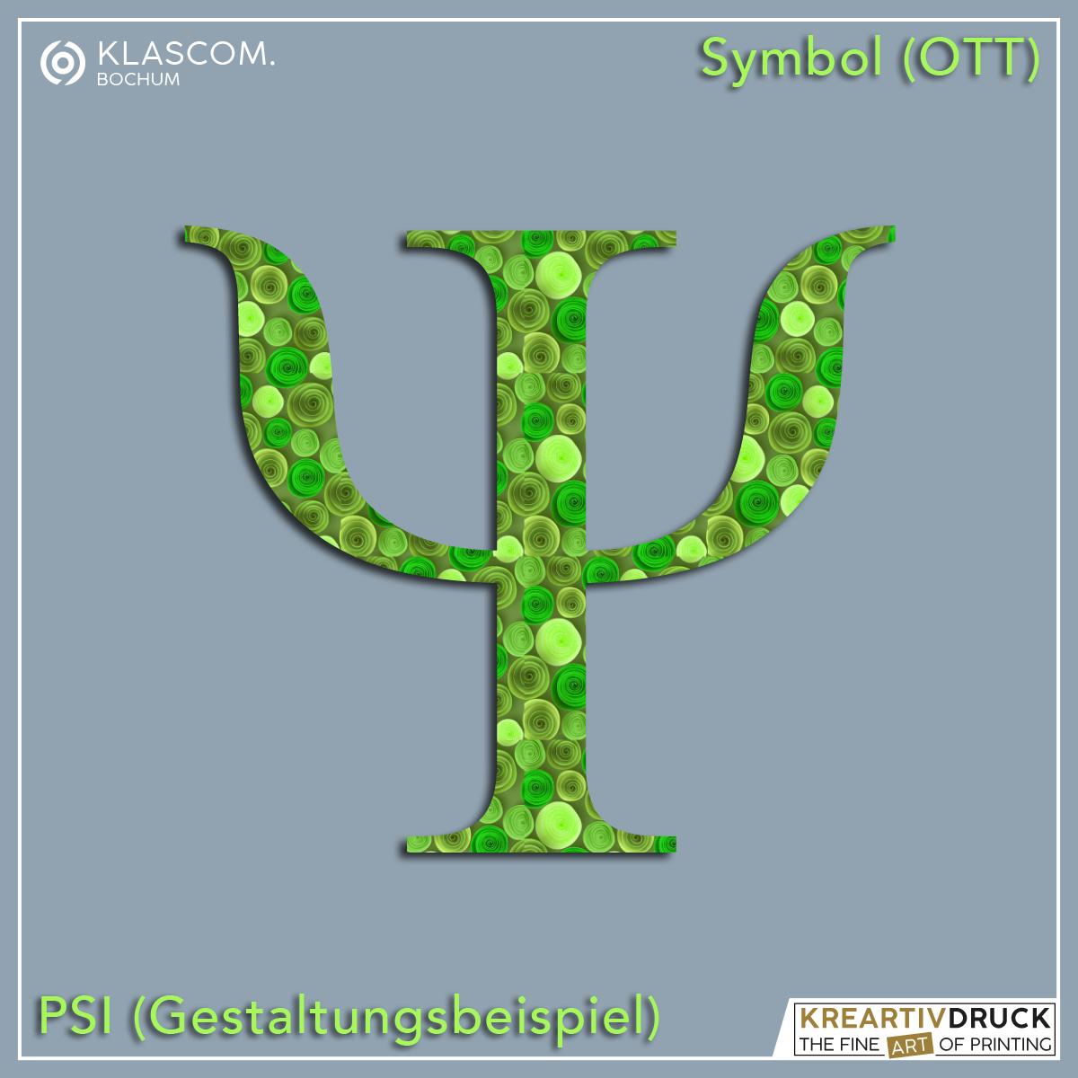 Symbol Psi [Gestaltungsbeispiel]